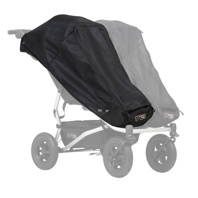 Mountain Buggy duet single custom fit sun mesh cover_default