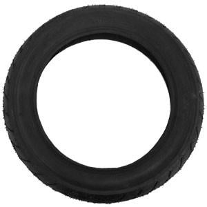 Mountain Buggy side view of replacement 16 inch rear tyre for terrain stroller in black_black