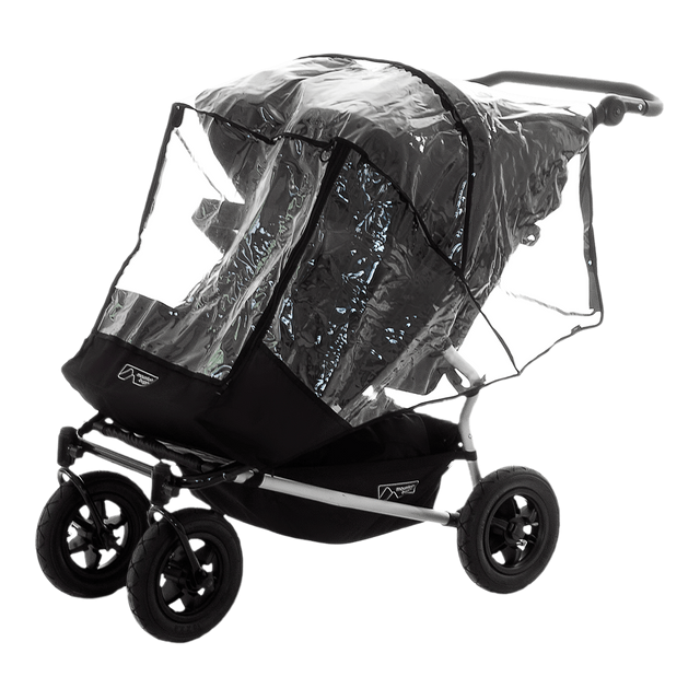 mountain buggy pre-2016 duet double storm cover side view_default