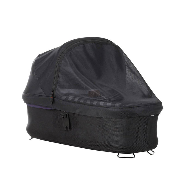 Mountain Buggy carrycot sun mesh cover on an urban jungle luxury carrycot in nautical_default