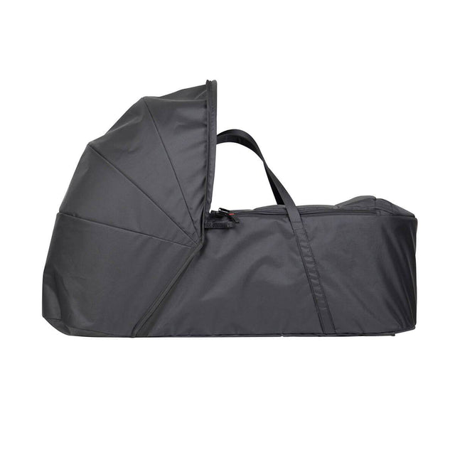 Mountain Buggy 2019 newborn cocoon side view in colour black_black