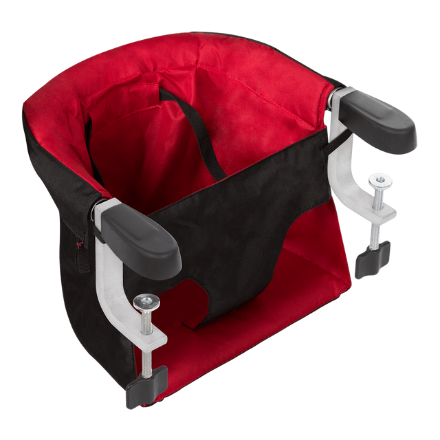 mountain buggy pod portable high chair in chilli red colour_chilli