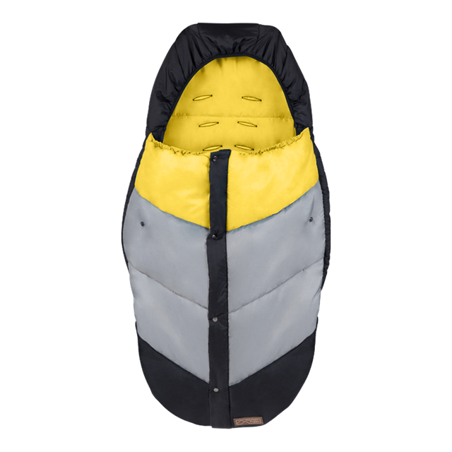 Mountain Buggy durable soft peach lined sleeping bag in colour cyber_cyber