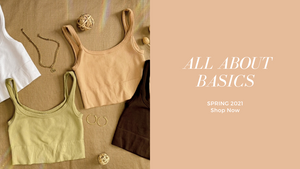Basic crop tops for Spring 2021