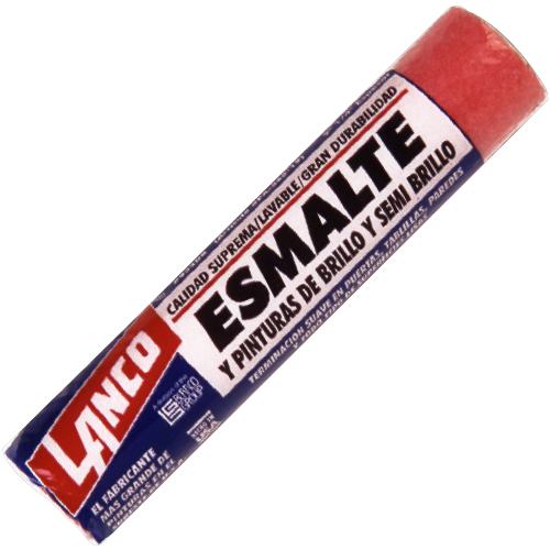 Smooth Enamel Roller - 9 x 1/4 Inches (Rolo de Esmalte para Superficies Lisas - 9 x 1/4 Pulgadas)
