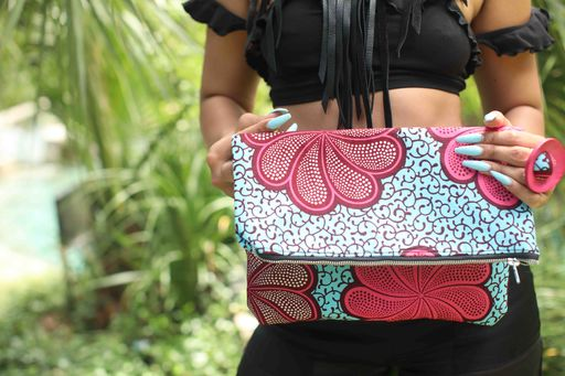 'Bishara' (Medium Fold-Over Clutch)