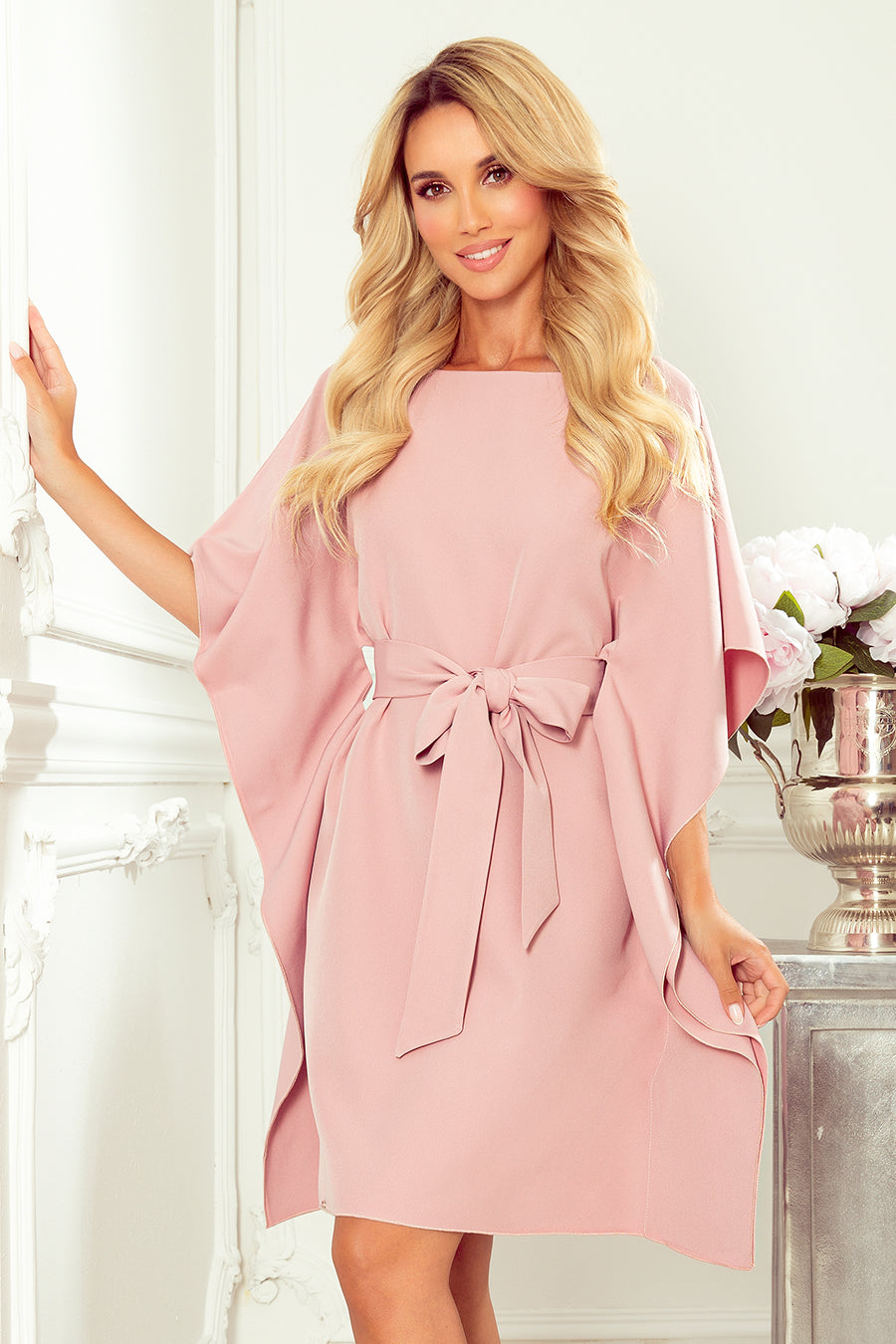 Dirty Pink Butterfly Dress 28711
