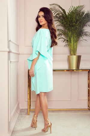Mint  Butterfly Dress 2876