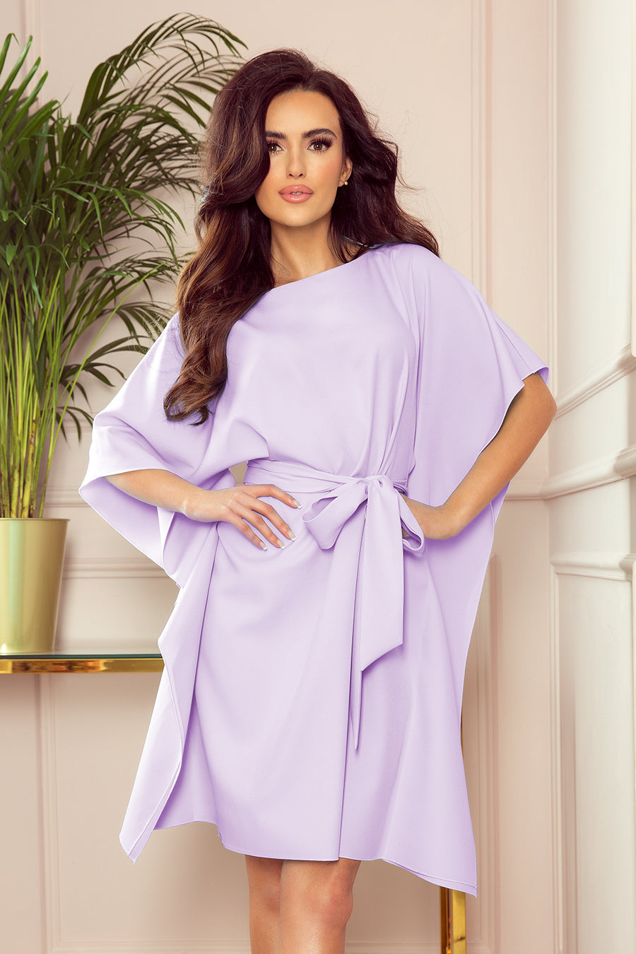 Lilac  Butterfly Dress 2878