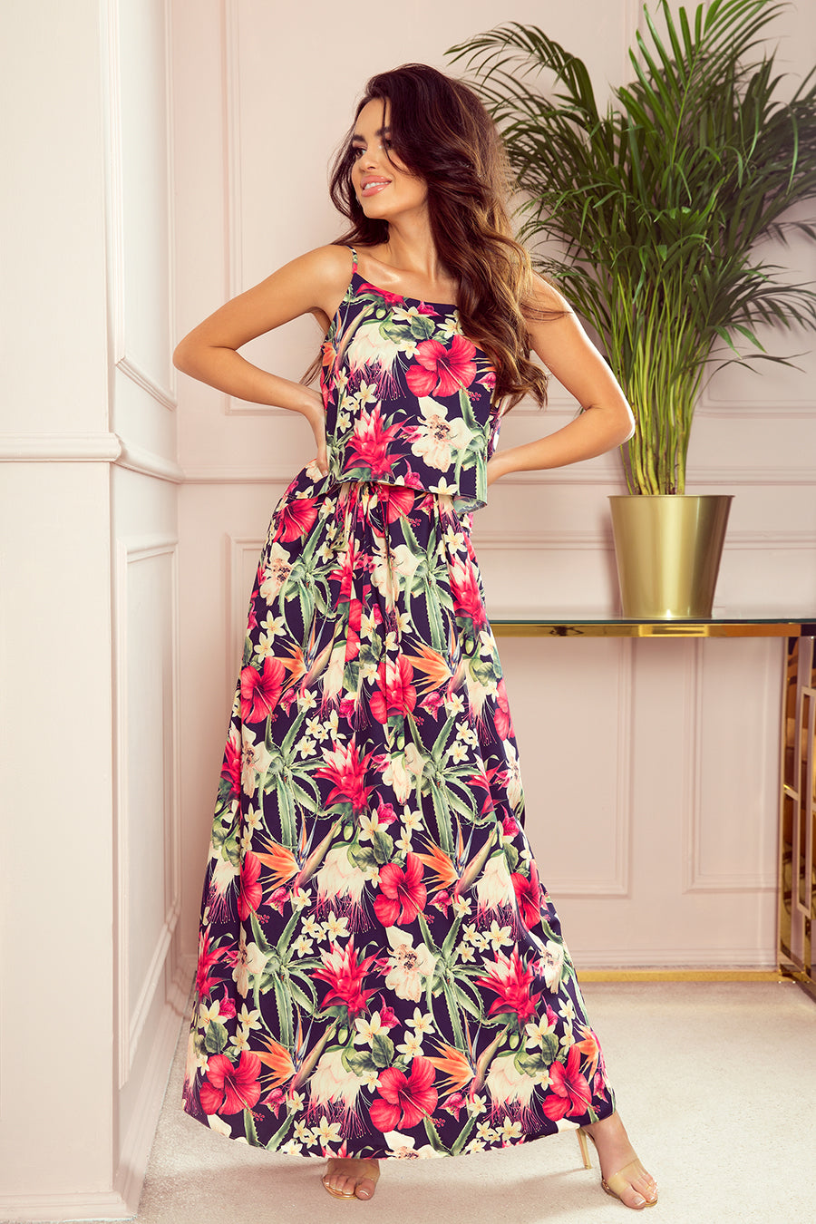 Summer Dress with Straps 11X3111