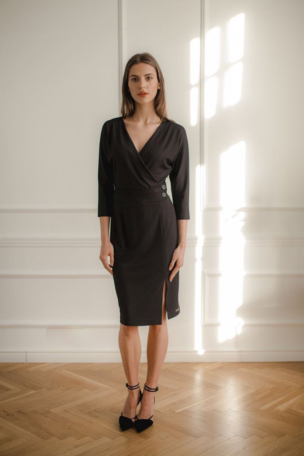 Elegant Office Dress 143898