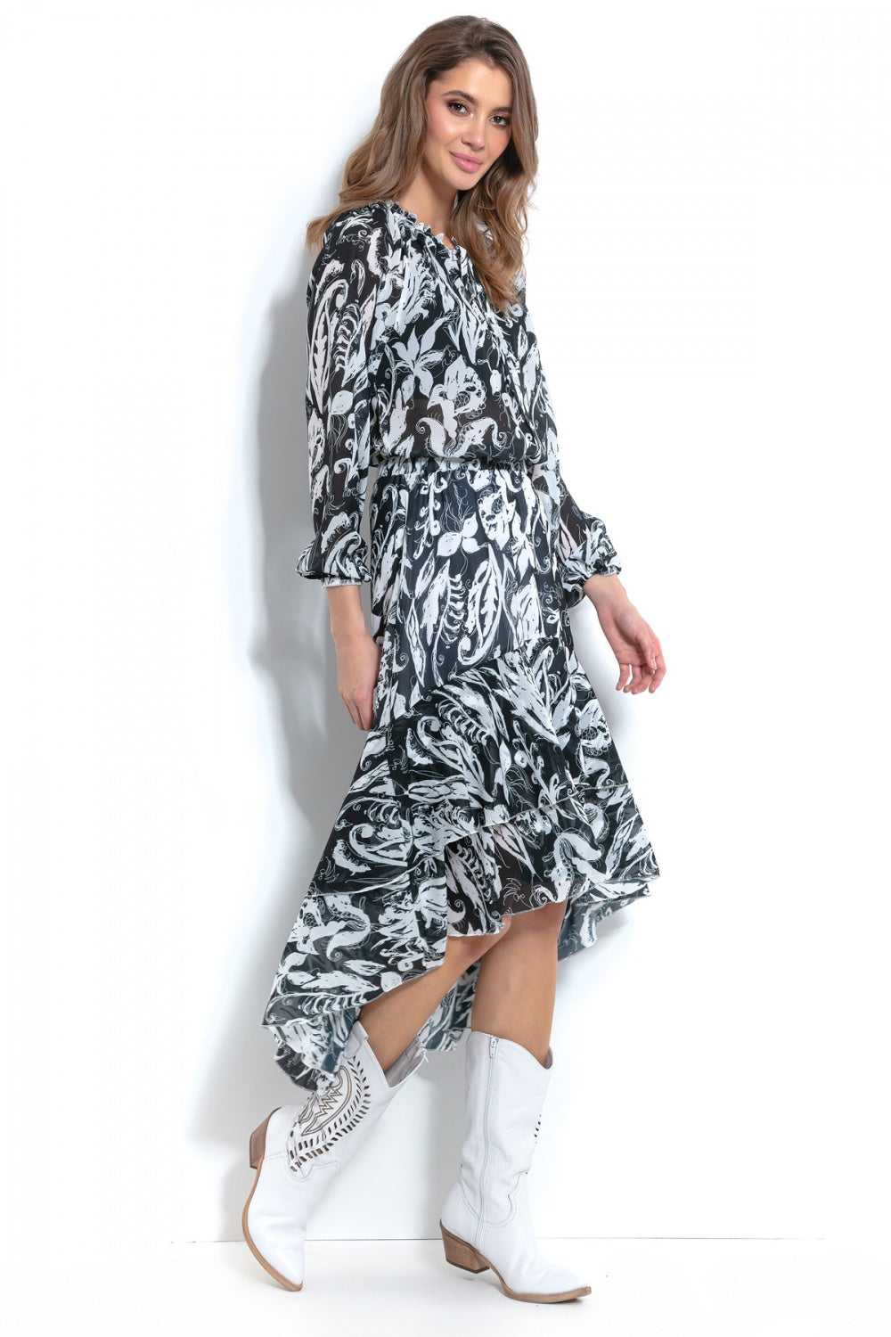 Asymmetric Dress 145926