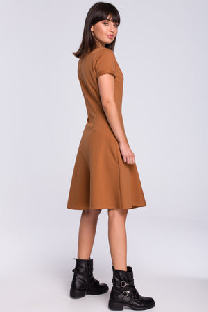 A-Line Dress With a Godet 128244