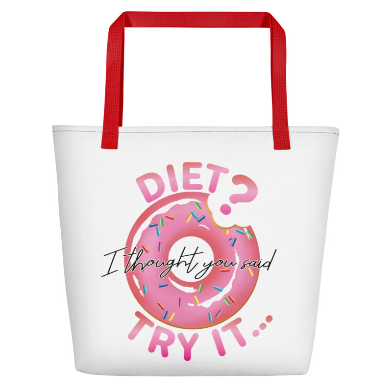 Doughnuts Beach Bag  MG1603