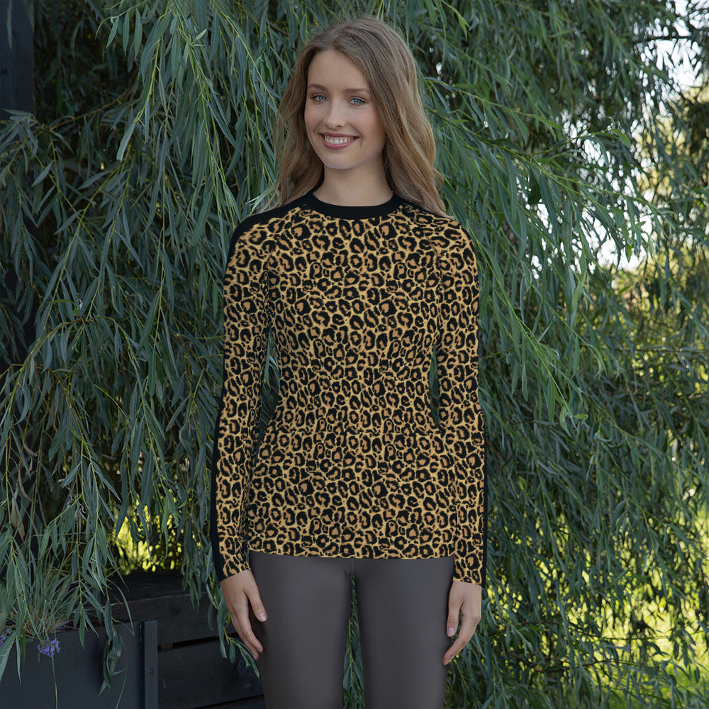 Leopard Rash Guard MG0704