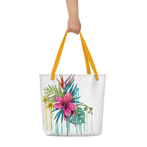 Hibiscus Beach Bag  MG1602