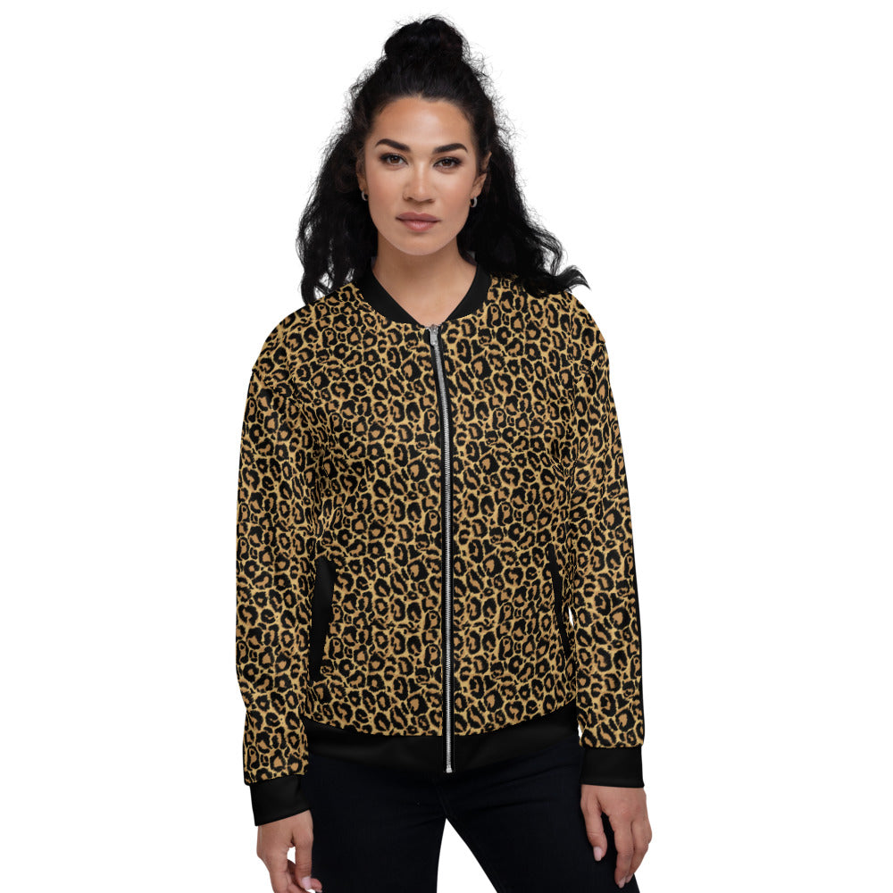 Leopard Bomber Jacket MG0904