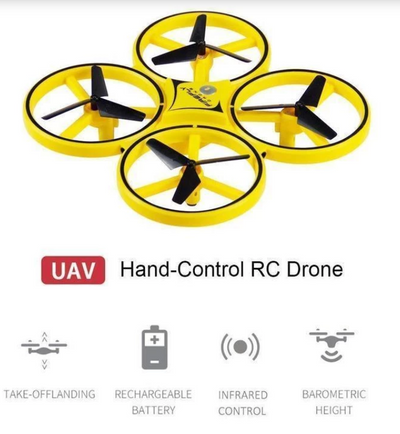 Smart watch controllable Quadcopter (Xmas Offer) - bightstore