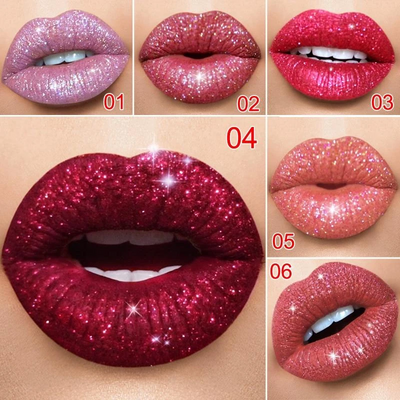 Glitter Waterproof Long Lasting Lip Gloss - bightstore