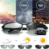 PHOTOCHROMIC SUNGLASSES WITH POLARIZED LENS - PERFECT FOR FISHERMAN - bightstore
