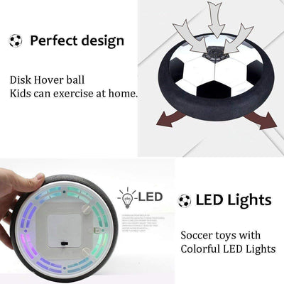 50% OFF - LED Air Power Soccer Ball - bightstore