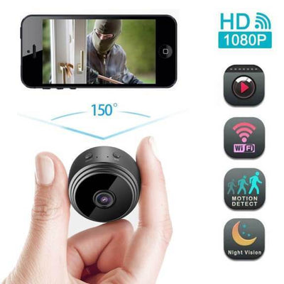 WIRELESS WIFI CAMERA WITH SENSORI NIGHT VISION - bightstore