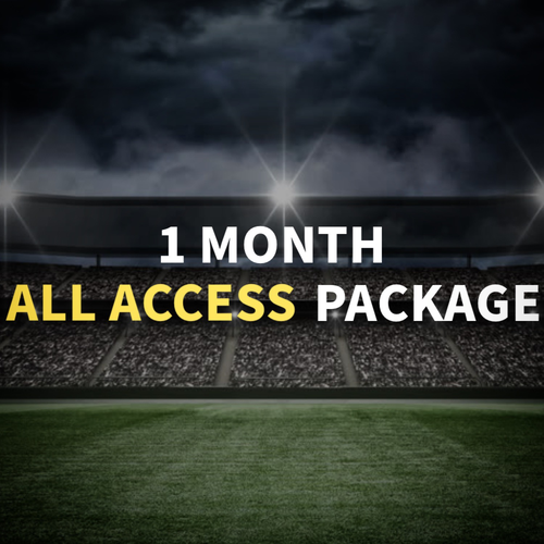 1 Month All-Access Package