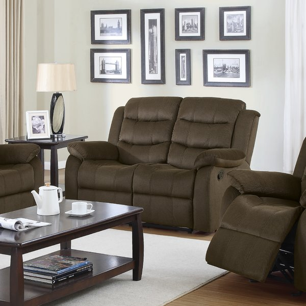 Rancho Cucamonga Reclining Loveseat by Loon Peak