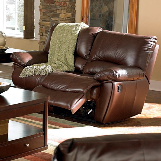 Red Bluff Leather Reclining Loveseat by Wildon Home