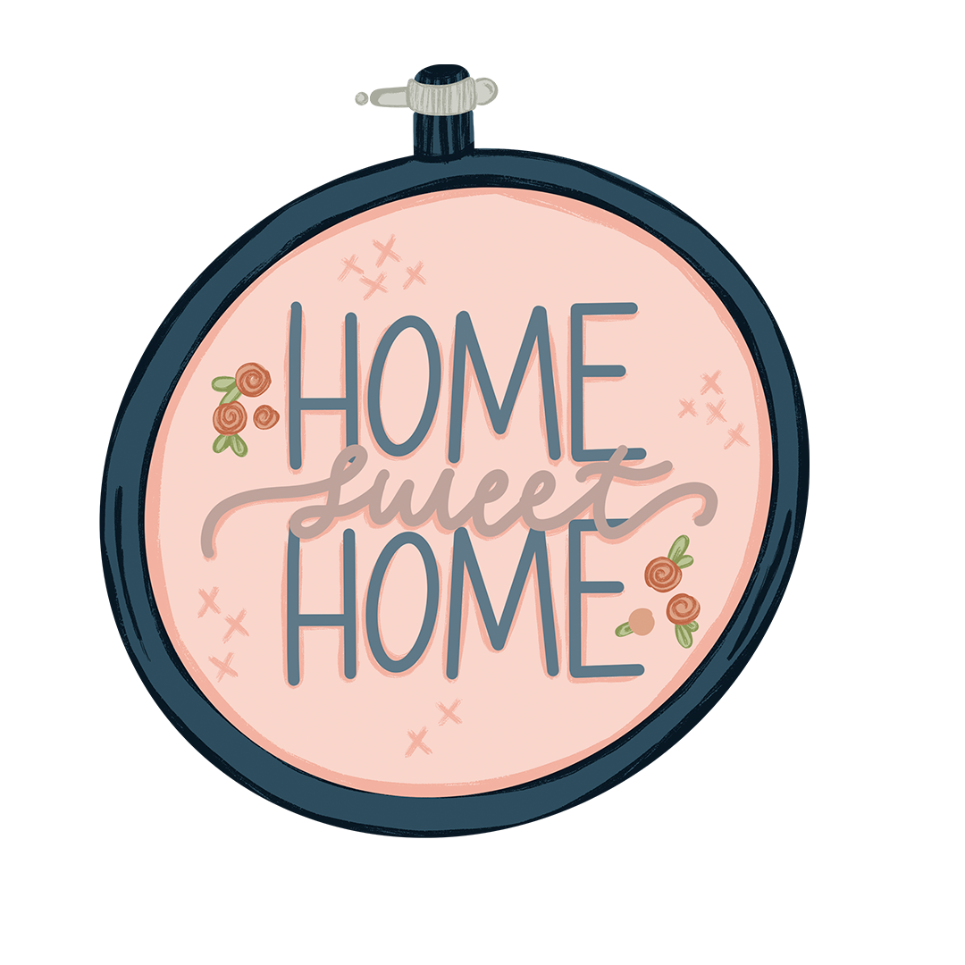 Stay at Home stickers