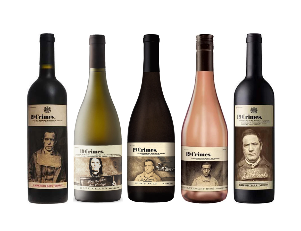 19 Crimes Wine Bundle