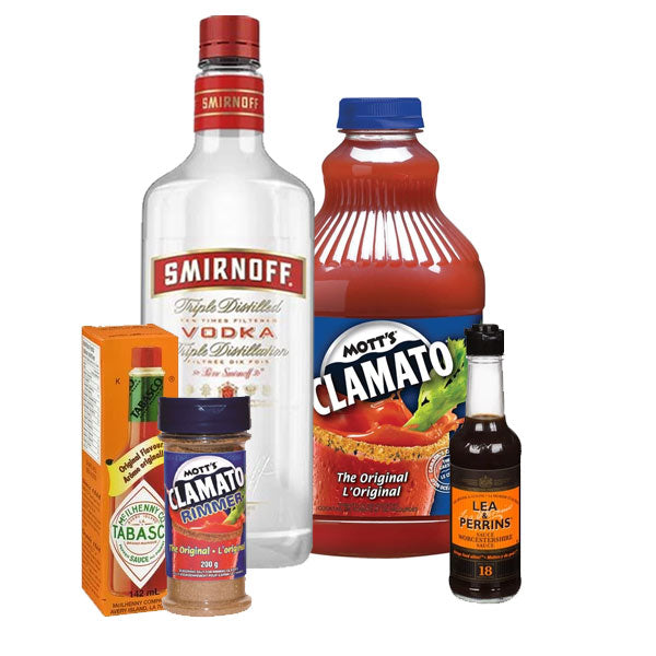 Caesar Bundle (includes 750ML of vodka)