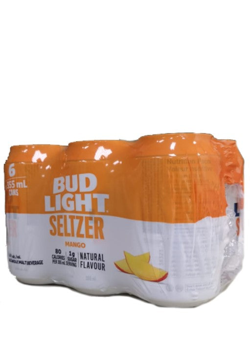 Bud Light Seltzer Mango 6 Pack Cans