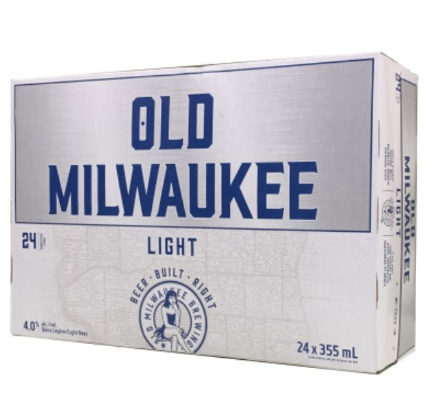 Old Milwaukee Light 24 Pack Cans