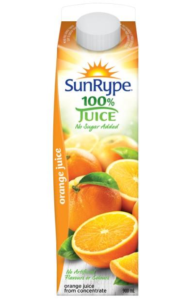 Sun Rype Orange Juice 900mL