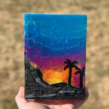 Load image into Gallery viewer, Sunset Landscape Resin Abstract