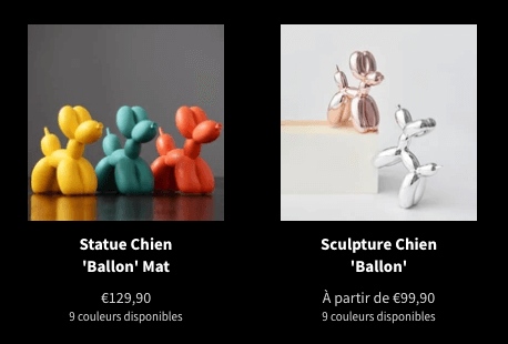 Statue Balloon Dog Jeff Koons