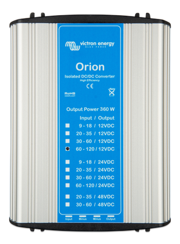 ORION DC-DC CONVERTERS 110V ISOLATED