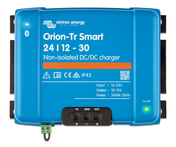 Orion-Tr Smart 12/12-30A (360W) Non-Isolated Charger
