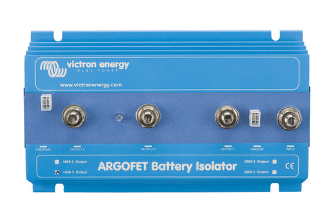 Victron Battery Isolating Splitter - FET Based - 100A - 3 Outputs