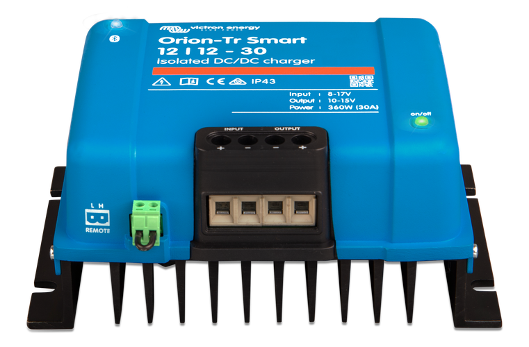 Orion-Tr Smart 12/24-10A (240W) Isolated DC-DC charger