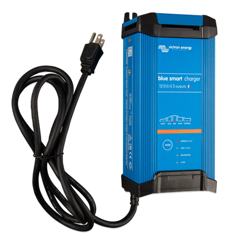 Blue Smart IP22 Charger 12/15 (1 or 3 Output) 120V