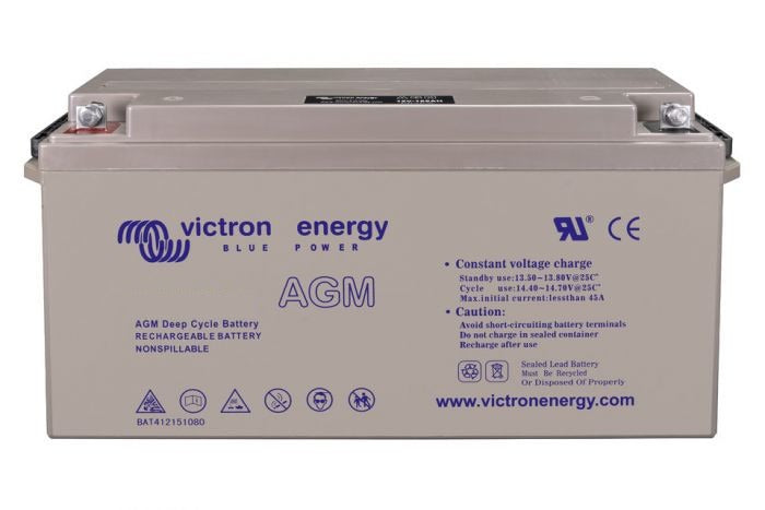 12V/240Ah AGM Deep Cycle Battery (M8)