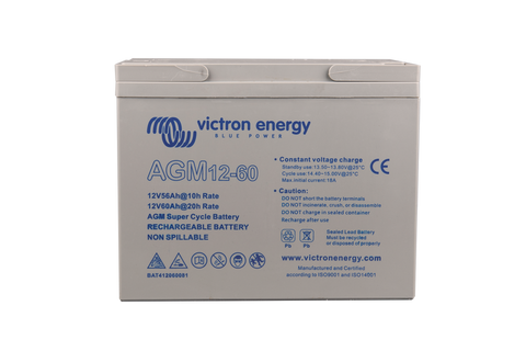 12V/60Ah AGM Super Cycle Battery (M5)