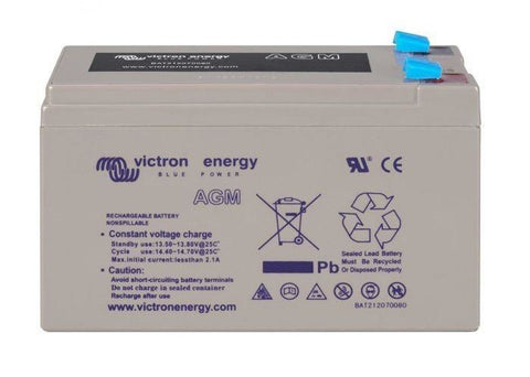 12V/15Ah AGM Super Cycle Battery (Faston 6.3x0.8mm)