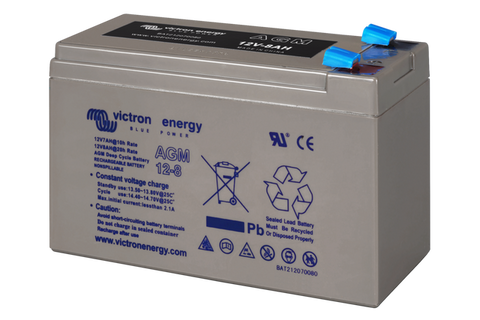 Victron 12V 8Ah(C20) AGM Deep Cycle Battery