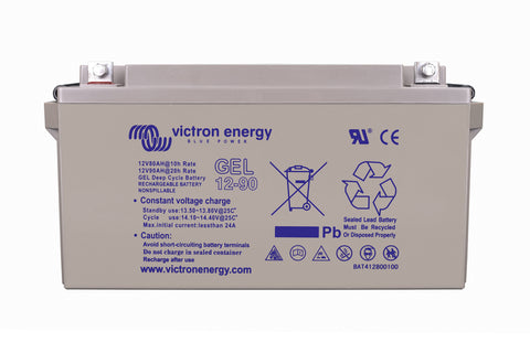 12V/66Ah Gel Deep Cycle Battery (C20)