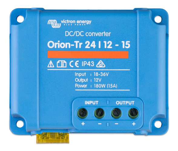 Orion-Tr 48/24-16A (380W) Isolated DC-DC converter