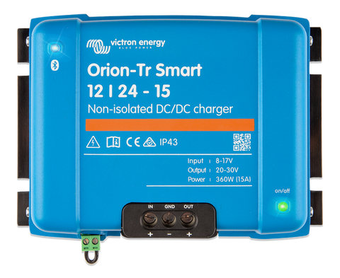 Orion-Tr Smart 12/24-15A (360W) Non-Isolated Charger