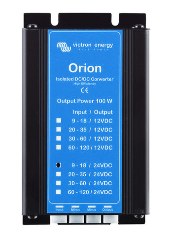 Victron Orion DC-DC converter. 7-35v in, 12.6v out